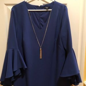 Stylish Blue Cocktail Dress